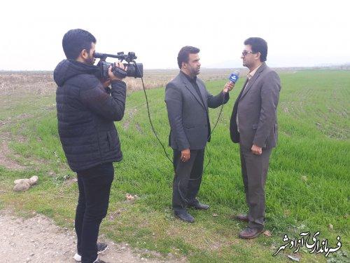 مکانیزاسیون کشاورزی شهرستان آزادشهر با تحویل ۳۵ دستگاه ماشینآلات و ادوات کشاورزی به متقاضیان در سال جاری تقویت شده است