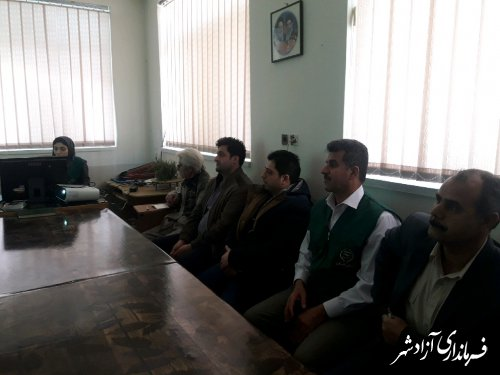 برگزاری کلاس آموزشی درخصوص چغندرقند برای چغندرکاران شهرستان آزادشهر