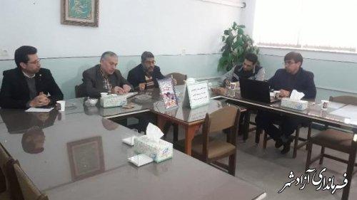 برگزاری پنجمین جلسه تخصصی قطب کشوری ادبیات و علوم انسانی در شهرستان آزادشهر