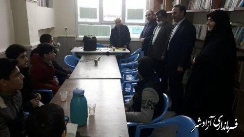 مسابقات قرآنی مرحله شهرستانی در آزادشهر