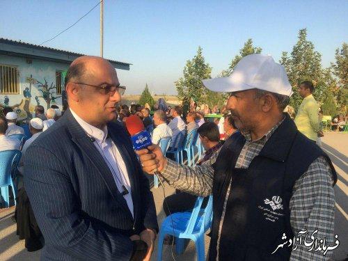 آموزش و پرورش آزادشهر رتبه نخست ارزیابی استانی اجلاسیه کشوری نماز را کسب کرد