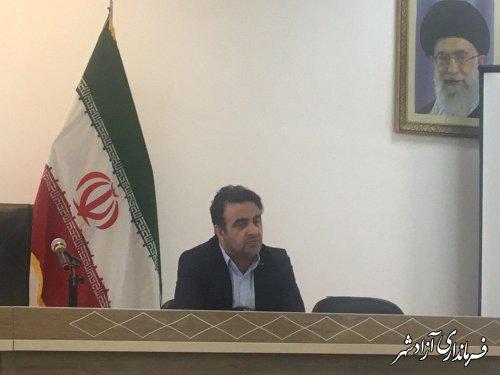 جلسه مشترک فرماندار و دادستان با هیات های اجرایی، نظارت و بازرسی انتخابات در آزادشهر