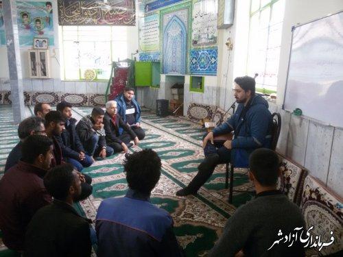 برگزاری کلاس های آموزشی در خصوص بیماری های دام به مناسبت چهل و یکمین سالگرد شکوهمند انقلاب اسلامی
