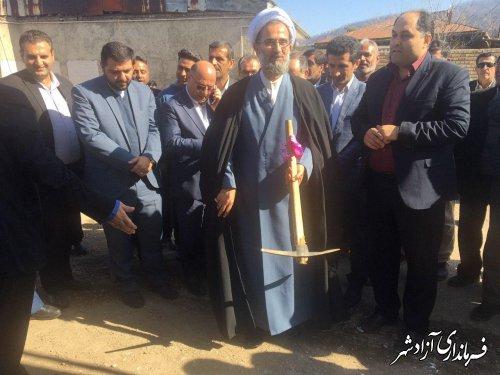 افتتاح متمرکز پروژه های بنیاد مسکن انقلاب اسلامی آزادشهر با اعتبار 26 میلیارد تومان