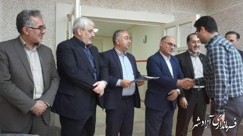 افتتاح یک واحد آموزشی ۶ کلاسه در شهر نوده خاندوز شهرستان آزادشهر