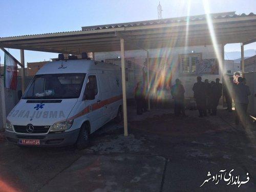 افتتاح ساختمان اورژانس شهری 115 در آزادشهر