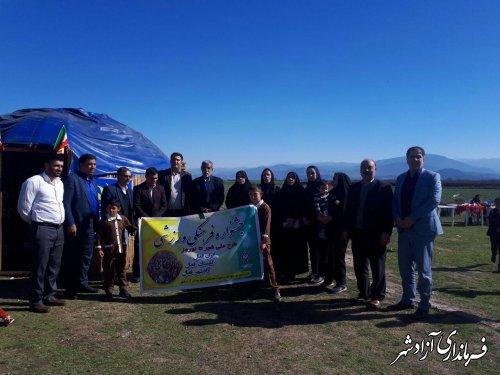 جشنواره باشکوه فرهنگی و ورزشی در روستای آقچلی قرخلر آزادشهر برگزار شد