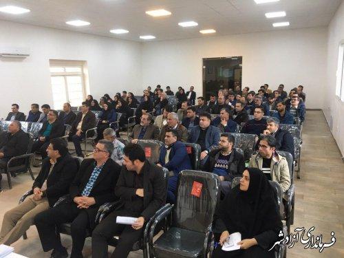 100 بازرس وظیفه حفظ و حراست از قانون انتخابات در شعب اخذ رای در آزادشهر را بر عهده دارند