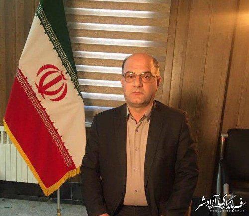 پیام تبریک فرماندار شهرستان آزادشهر به مناسبت اعیاد شعبانیه
