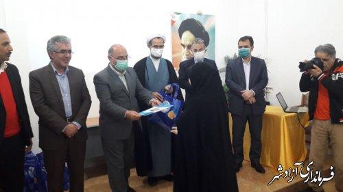 مراسم تجلیل از معلمان، مدیران و مربیان برتر شهرستان آزادشهر برگزار شد