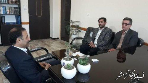 نشست مشترک روسای منابع طبیعی و آبخیزداری و آموزش و پرورش شهرستان آزادشهر