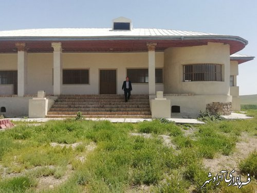 سرکشی سرپرست یگان حفاظت میراث فرهنگی شهرستان آزادشهر از تپه و کاخ خوش ییلاق