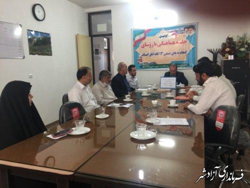برگزاری جلسه هماهنگی بزرگداشت رحلت امام خمینی  (ره) و قیام خونین 15 خرداد 42