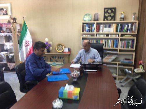 ملاقات عمومی فرماندار شهرستان آزادشهر برگزار شد