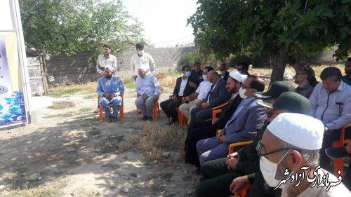 ساخت یک باب منزل مسکونی رایگان برای یک خانواده نیازمند در روستای آقچلی علیا آزادشهر