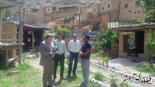 بازدید کارشناسان اداره کل میراث فرهنگی گلستان از اقامتگاه های بوم گردی شهرستان آزادشهر