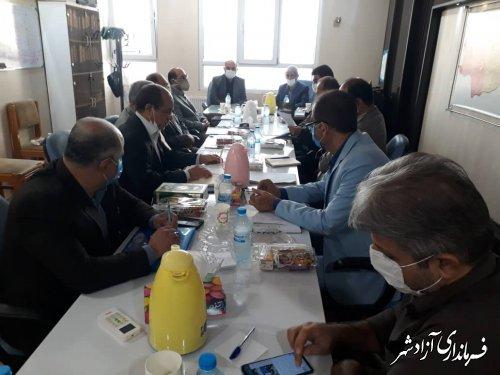بررسی مشکلات و نیازمندی های حوزه آبرسانی شهرستان آزادشهر