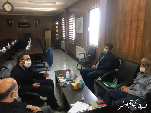 مشکلات حقوق و دستمزد و بیمه ای کارگران معدن زمستان یورت آزادشهر بررسی و پیگیری شد