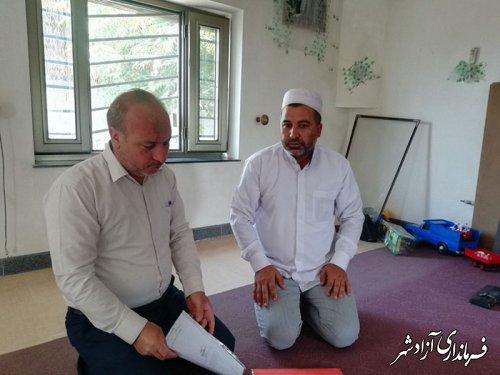 تقدیم احکام انجمن های میراث فرهنگی روستای آقچلی علیا شهرستان آزادشهر