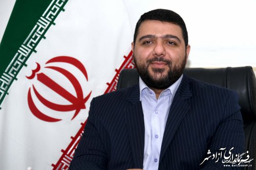 حضور فرماندار و شهردار آزادشهر در مرکز سامد