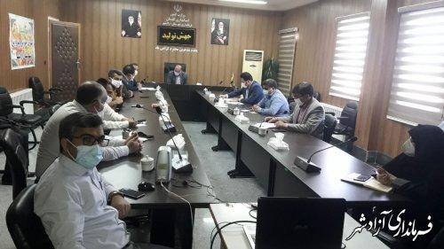 اولین جلسه شورای ملی مهارت در شهرستان آزادشهر برگزار گردید