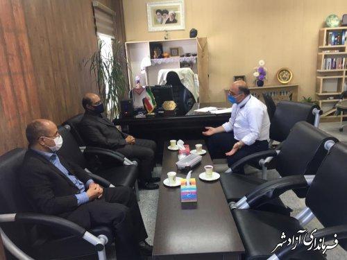 مشکلات و نیازمندی های حوزه تامین منابع آب شرب شهرستان آزادشهر بررسی و تصمیم گیری شد