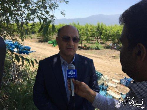 مرمت و بازسازی جاده بین مزارع 4 روستای بخش چشمه ساران آزادشهر با اعتبار 300 میلیون تومان
