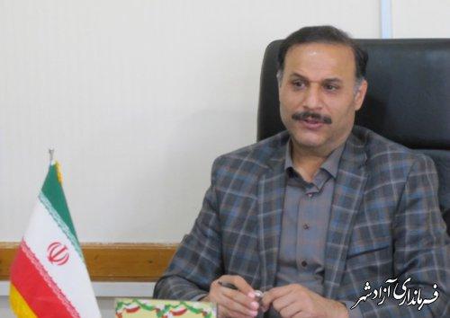 پیام تبریک مدیر آموزش و پرورش شهرستان آزادشهر بمناسبت ۱۷ مرداد روز خبرنگار