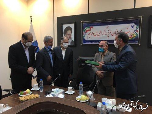 انعقاد تفاهم نامه مشترک بین سازمان فنی و حرفه ای کشور و دانشگاه آزاد اسلامی واحد آزادشهر