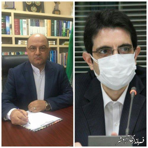 درخواست فرماندار ازادشهر جهت تسریع در اجرای طرح ملی آبرسانی به شهر آزادشهر