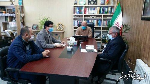 تشکیل جلسه بررسی وضعیت عرضه و توزیع مرغ در شهرستان آزادشهر