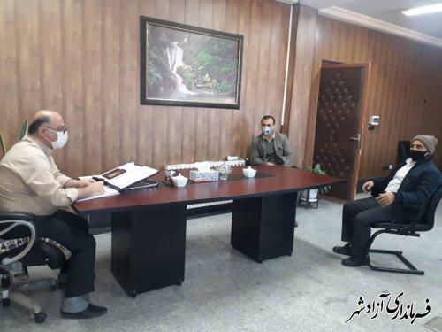 ملاقات مردمی فرماندار آزادشهر برگزار شد