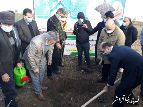 سایت زباله آزادشهر به بوستان تبدیل میشود