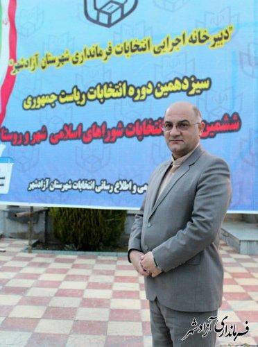 ثبت نام 146 نفر برای شوراهای شهر در شهرستان آزادشهر