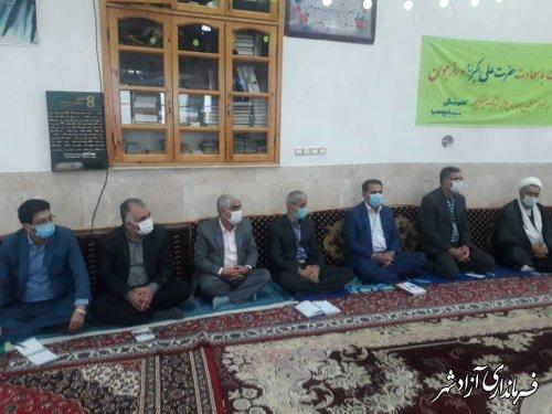 برگزاری میز خدمت در روستاهای بخش چشمه ساران شهرستان آزادشهر