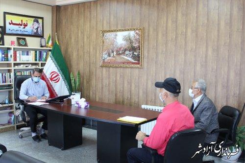 برنامه ملاقات عمومی فرماندار آزادشهر با مردم برگزار شد