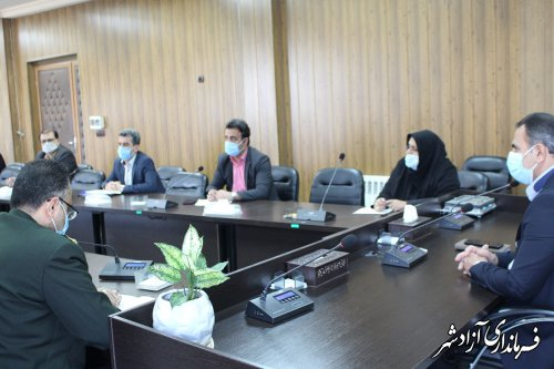 جلسه شورای ترافیک شهرستان آزادشهر برگزار شد