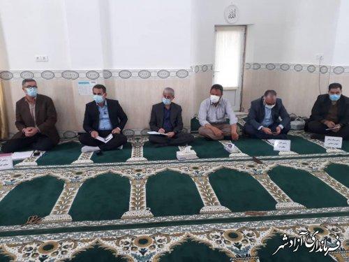 برگزاری میز خدمت در روستاهای بخش مرکزی شهرستان آزادشهر
