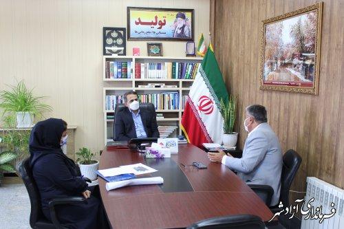 روند اجرای پروژه مجتمع خدمات رفاهی بین راهی شهرستان آزادشهر تسهیل می شود