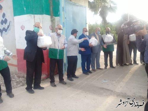 راه اندازی آشپزخانه طرح اطعام مهدوی در آزادشهر