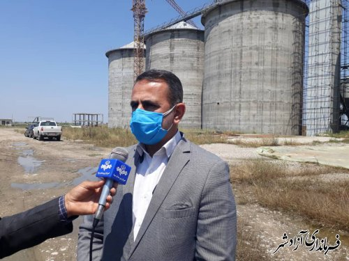 پیش بینی برداشت بیش از 44 هزار تن گندم از مزارع کشاورزی شهرستان آزادشهر