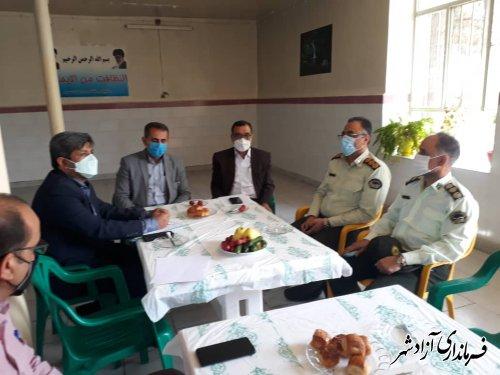 جلسه بررسی آخرین وضعیت ایمنی و پرداخت مطالبات کارگران معادن زمستان یورت برگزار شد