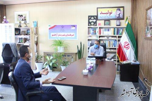 ملاقات عمومی فرماندار آزادشهر برگزار شد