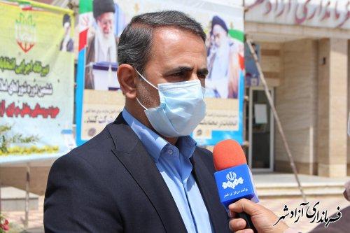 آغاز تبلیغات نامزدهای انتخابات شوراهای اسلامی شهر و روستا شهرستان آزادشهر