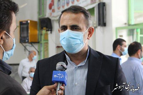 بیش از 45 هزار نفر در انتخابات شهرستان آزادشهر شرکت کرده اند