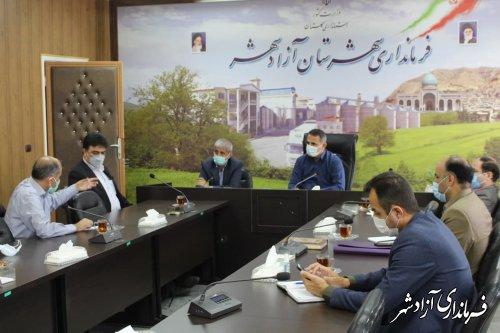 مدیران موظف به تلاش ویژه برای رفع مشکل آب شرب مردم آزادشهر هستند