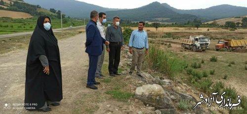 اجرای طرح لایروبی آبندان چند منظوره روستای فاضل آباد آغاز شد