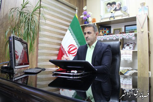 پیام تبریک فرماندار آزادشهر به مناسبت روز پزشک