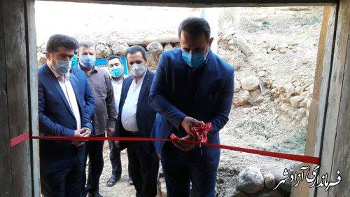 اقامتگاه بوم گردی در روستای هدف گردشگری فارسیان به مناسبت هفته دولت افتتاح شد
