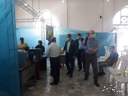 32 هزار دُز واکسن کرونا در آزادشهر به جامعه هدف تزریق شد